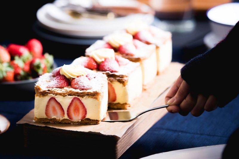 風靡全台的深夜法國手工甜點。(圖/深夜裡的法國手工甜點@Facebook)