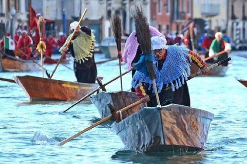 威尼斯的兒童節。(翻攝Veneziatoday)