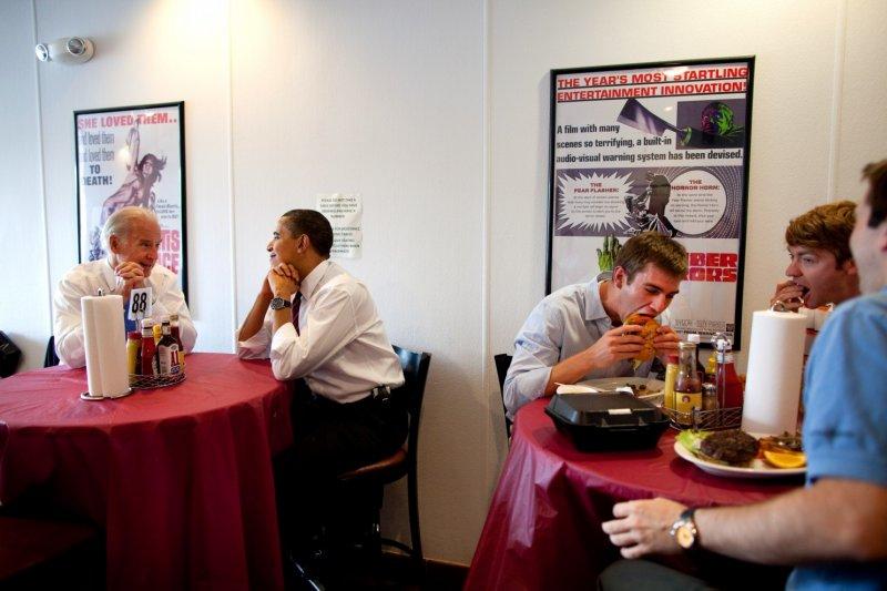 歐巴馬總統和副總統拜登。(取自White House)