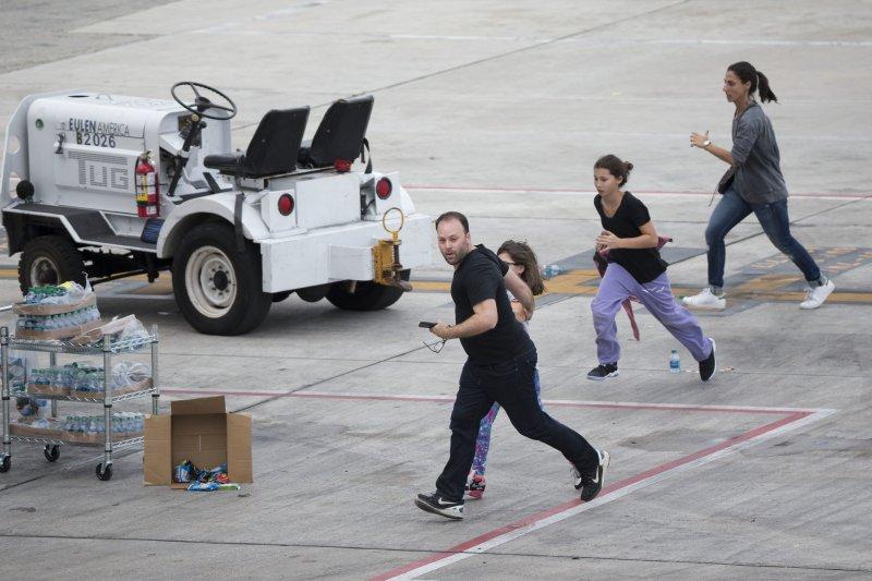 美國佛羅里達州羅德岱堡─好萊塢國際機場槍擊案,造成5死8傷。(美聯社)
