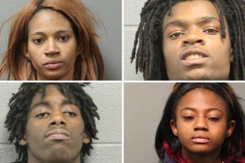 四名嫌疑人均被控以非法禁錮以及嚴重毆打他人。(BBC中文網)