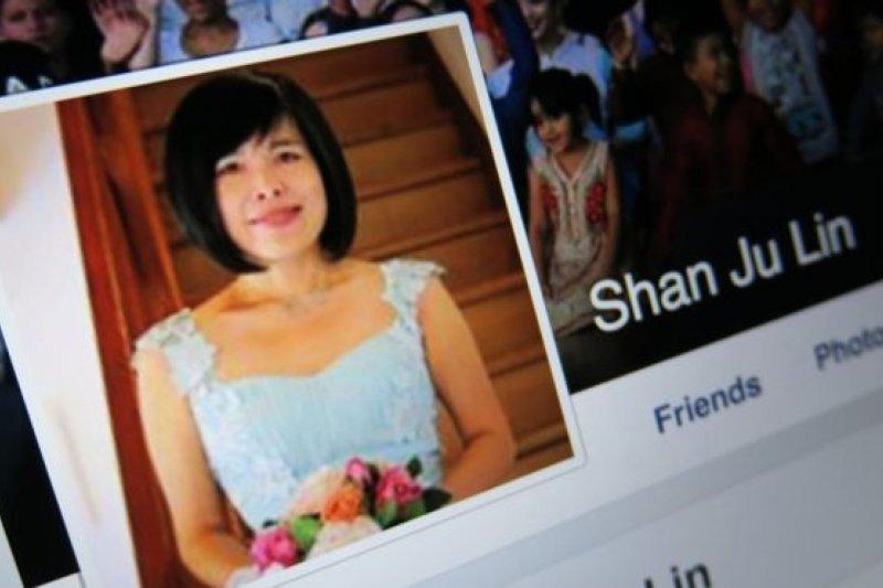 台裔澳大利亞政治人物林珊如經常在Facebook發文。(BBC中文網)