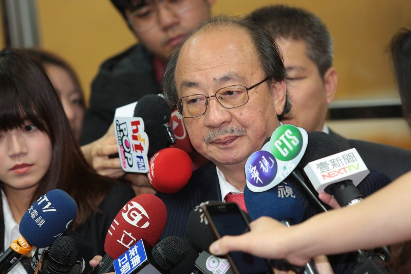 20170110-民進黨總召柯建銘10日至台北地方法院出庭。(顏麟宇攝)