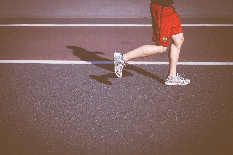 常跑步傷膝蓋?你錯了!(圖/Pixabay)