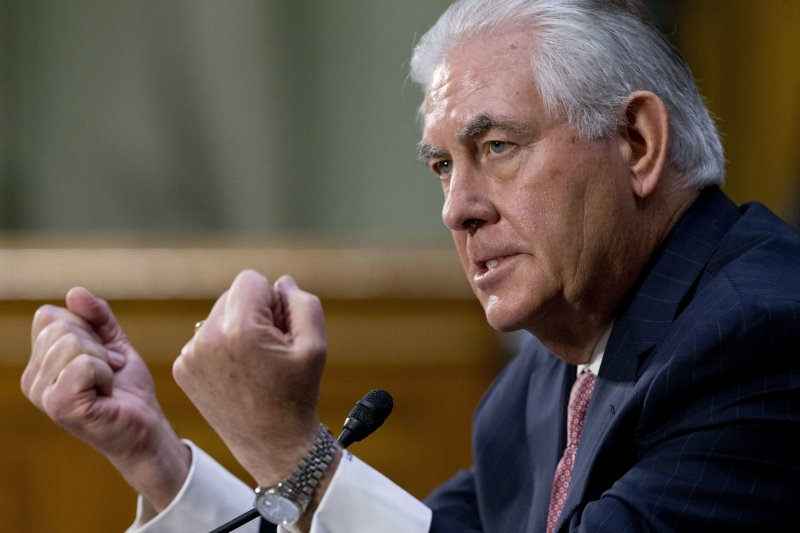 美國準國務卿提勒森就南海問題對中國說重話,要求北京不准繼續造島。(美聯社)