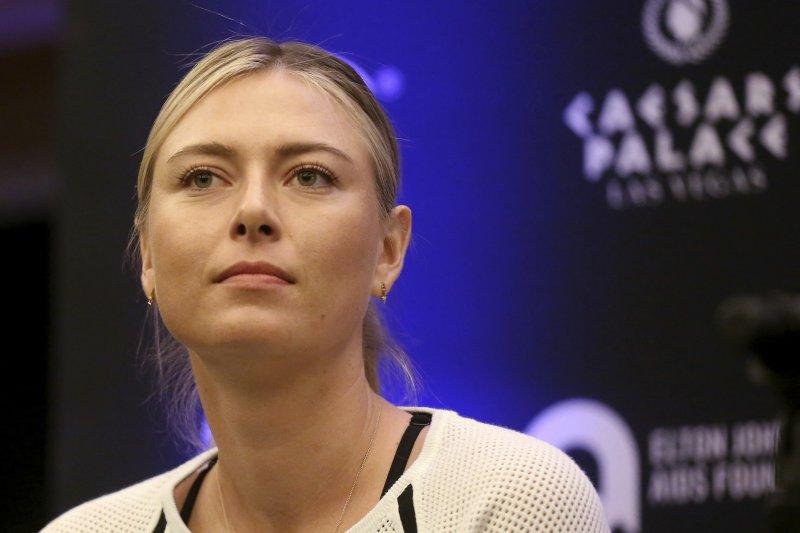 莎拉波娃將在德國斯圖加特復出參加比賽。(美聯社)