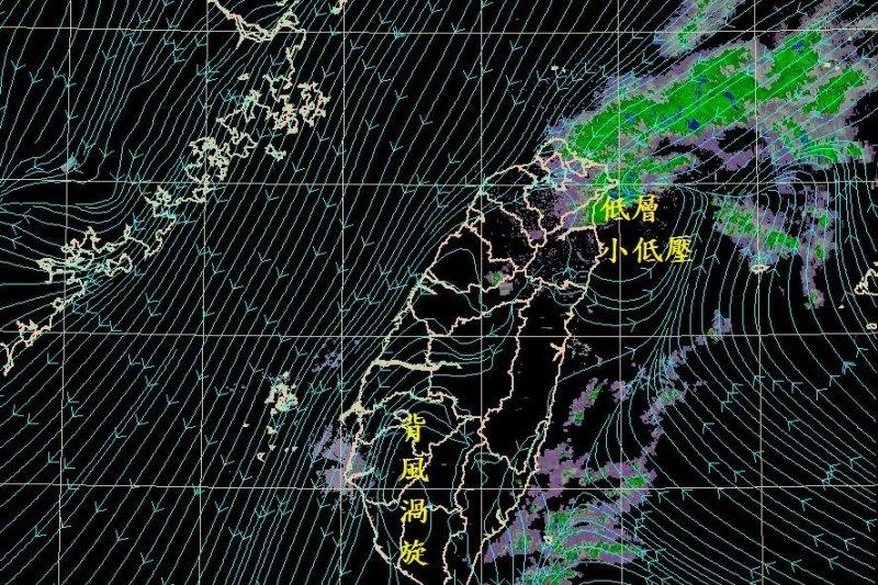 中央氣象局氣象預報中心主任鄭明典臉書PO文分析空汙氣象原因。(擷取自鄭明典臉書)
