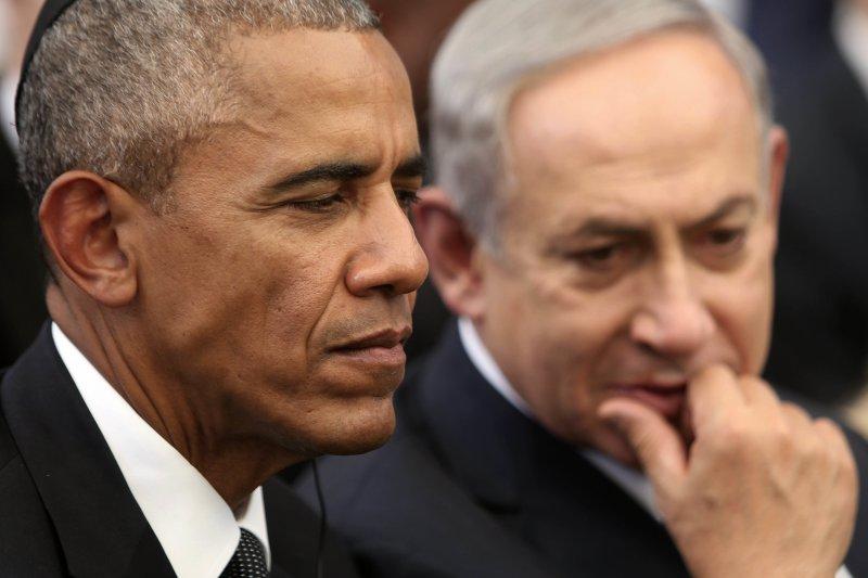 以色列總理納坦亞胡與美國總統歐巴馬水火不容(AP)