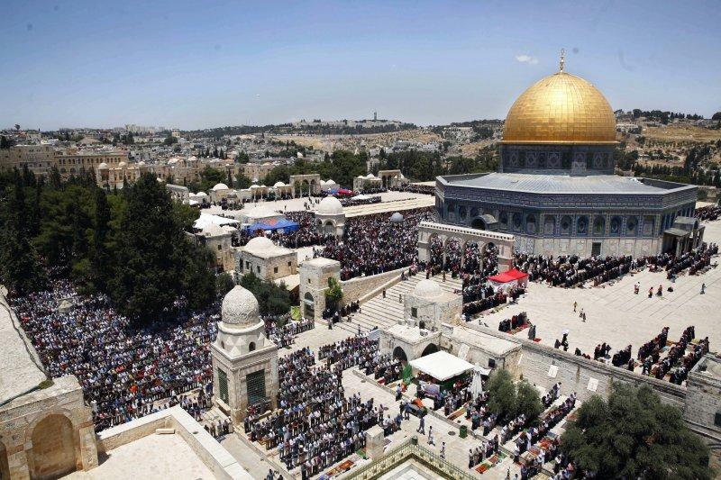 耶路撒冷,圓頂清真寺(AP)