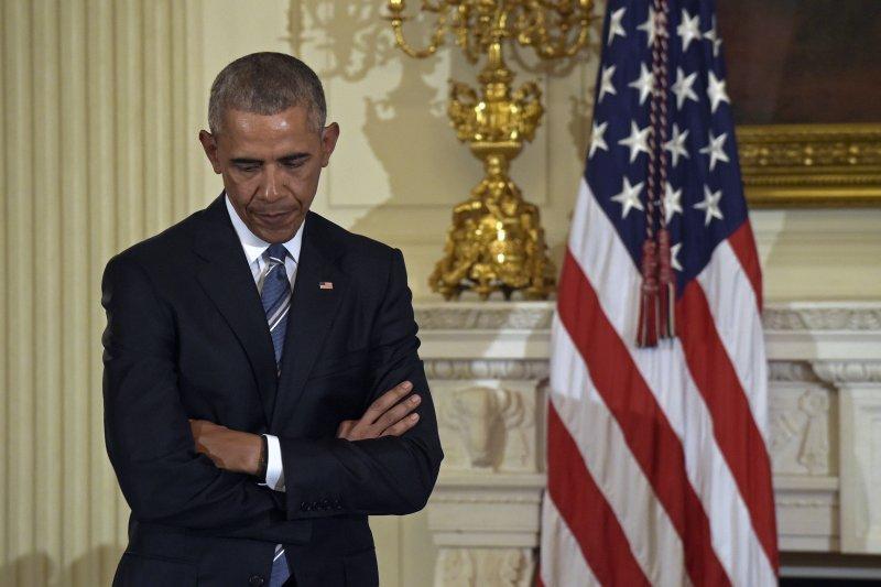 美國首位黑人總統歐巴馬(AP)