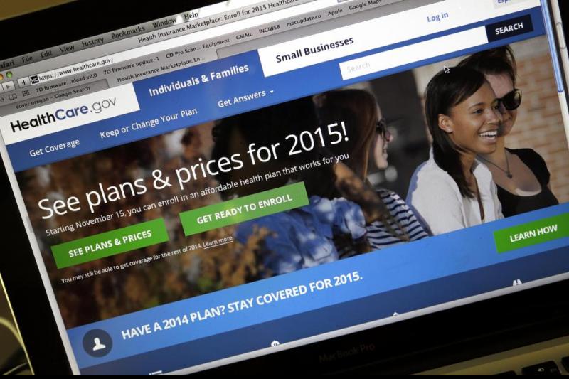 歐巴馬健保主要政策之一,架設起透明方便的健保購買網站。(美聯社)