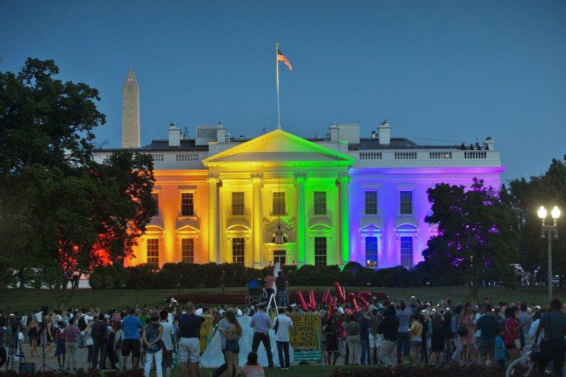 美國LGBT族群及其支持者蓬勃發展(AP)