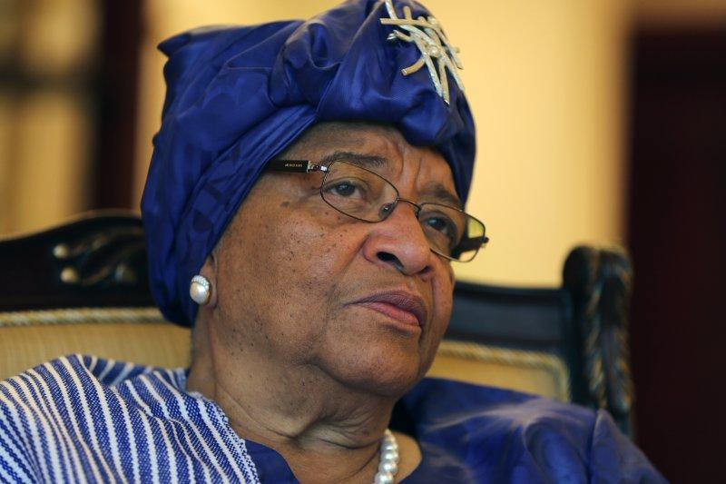 賴比瑞亞首位女總統瑟利夫(AP)