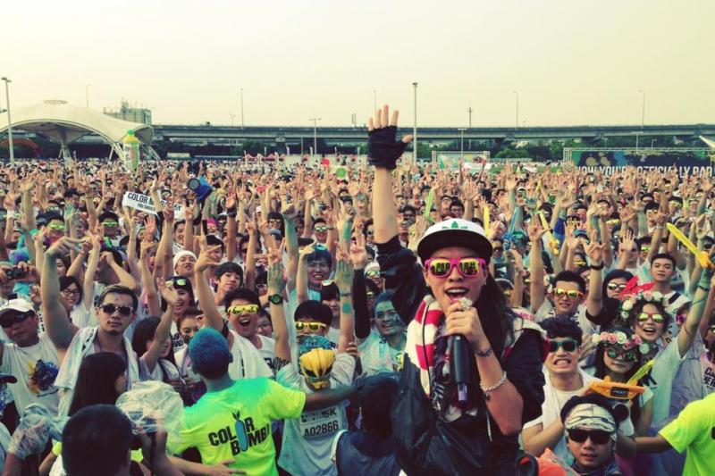 歌手Miss Ko(葛仲珊)成功運用負面行銷使PIZZA店聲名大噪。(取自葛仲珊官方粉絲團)