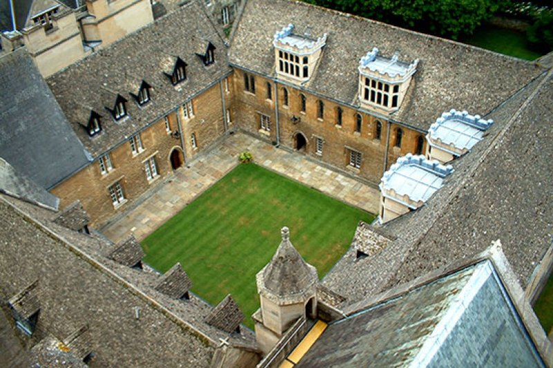 圖1:英國牛津大學莫頓學院。(取自牛津大學)