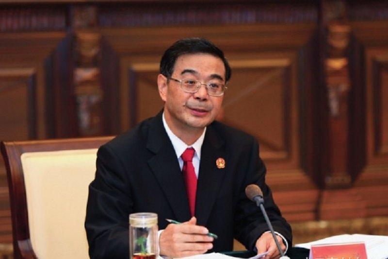 中國最高人民法院院長周強。
