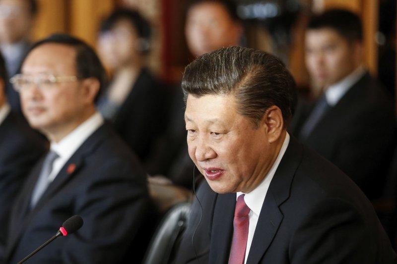 中國國家主席習近平破例出席瑞士達沃斯論壇並發表演說(AP)