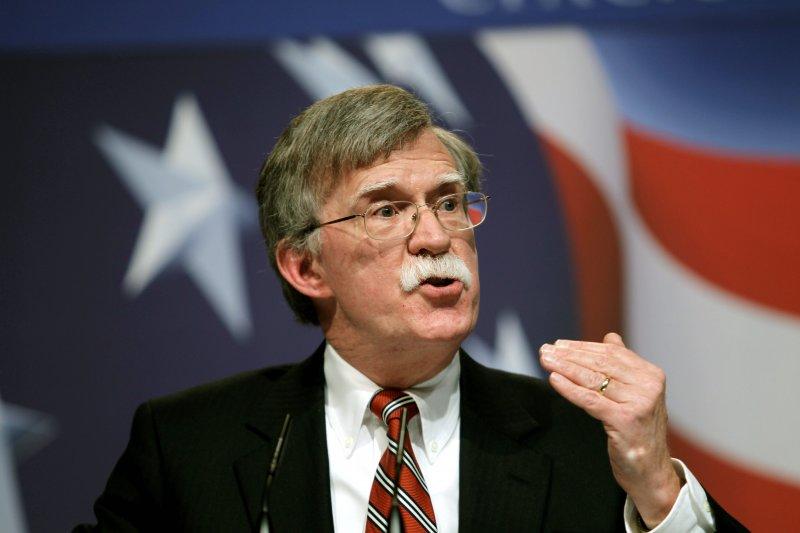 前美國駐聯合國大使波頓投書表示,應該要重新審視「一中」原則,且考慮駐軍台灣(AP)