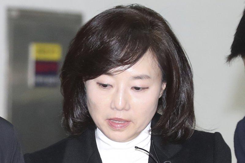 南韓文化體育觀光部長趙允旋(AP)