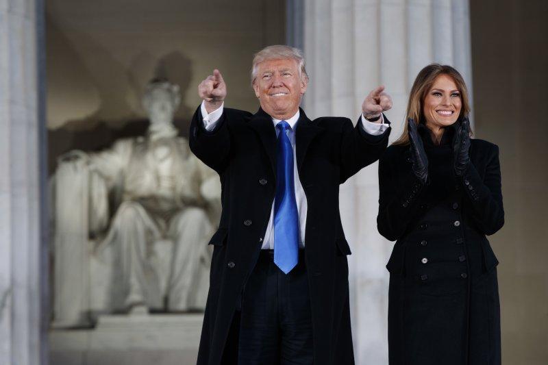 美國第45位總統川普將在20日正式上任(AP)