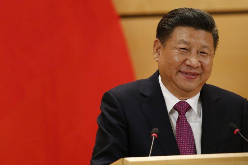 作者認為,現在兩岸都還沒有看到有任何一份政府或民間版具體明確的文本提案,北京最近也不曾表達過這方面的意願動向,反而是台灣朝野自己一頭熱。圖為中國國家主席習近平。(資料照,AP)
