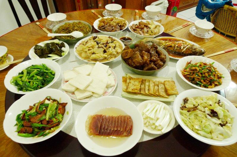 農曆春節7天年假餐餐大魚大肉,讓不少人體重直線上升。示意圖。(資料照,取自flicker@Blowing Puffer Fish)