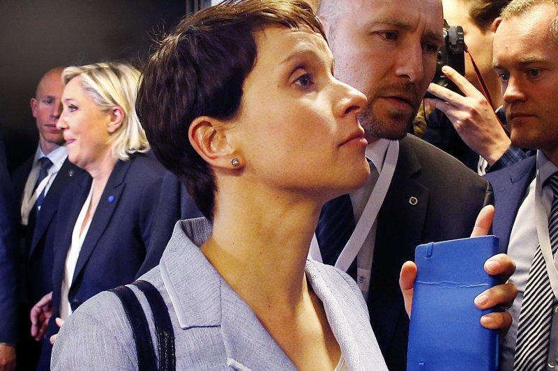 「德國另類選擇黨」(AfD)領袖佩特里(Frauke Petry)。(AP)
