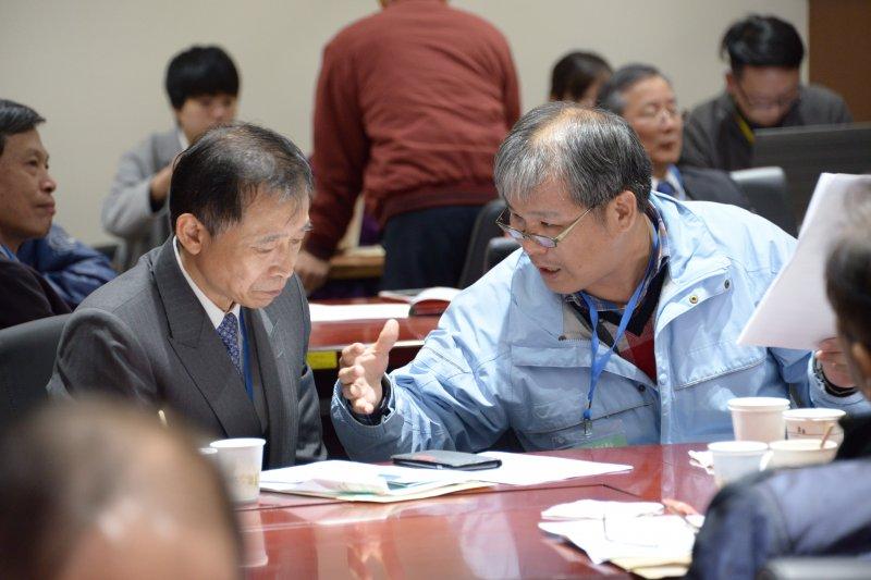 年金改革國是會議第一組分組會議,於下午場分別就給付、領取資格續作討(總統府)