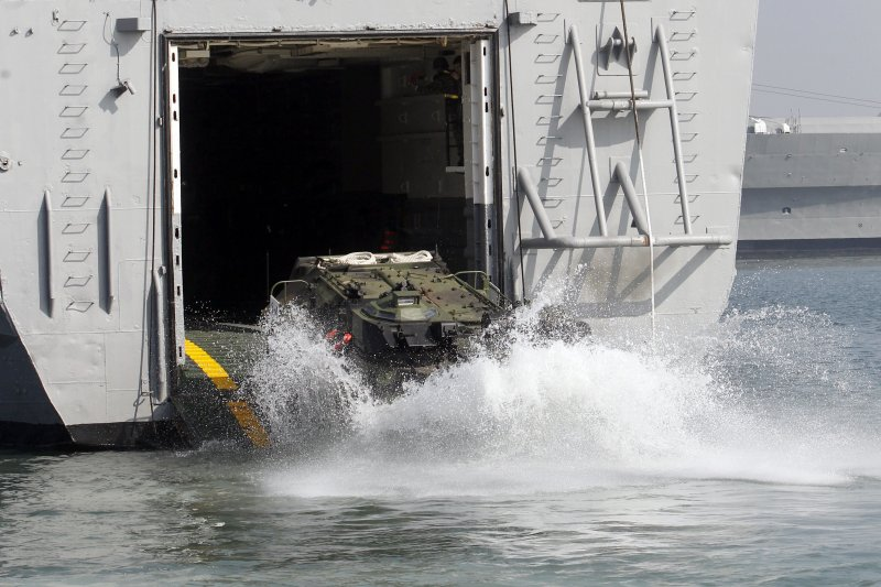 台灣,國軍,AAV7兩棲突擊車(AP)