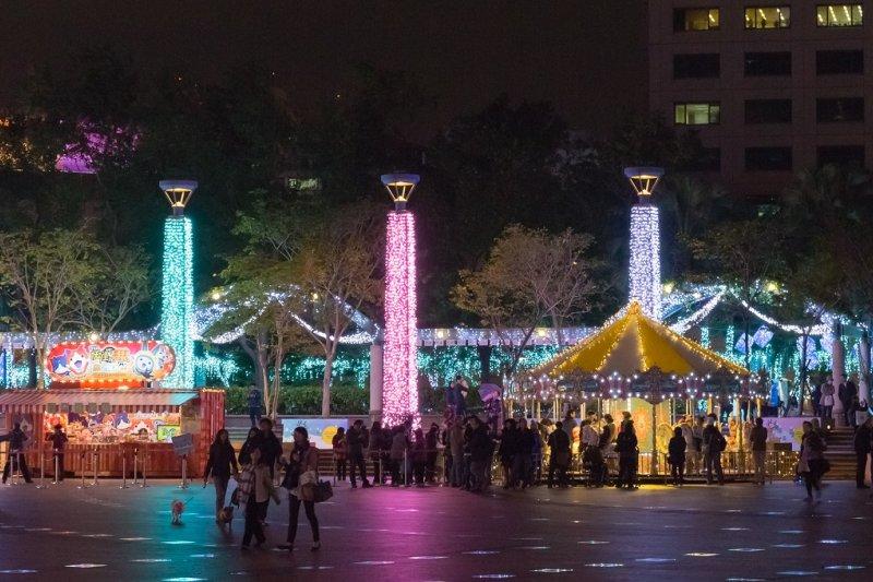 近兩年來,全台最火紅的活動已經不是跨年,而是耶誕了。(圖/新北市政府觀光旅遊局提供)