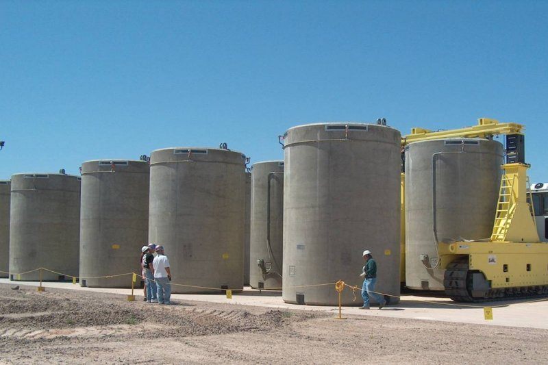 核一廠乾式貯存設施。(陳立誠提供)