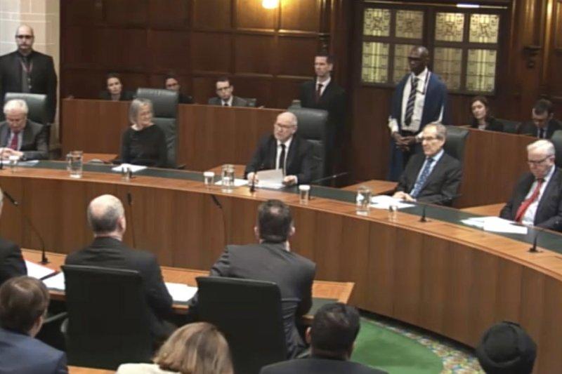 英國最高法院宣布維持原判:啟動脫歐需國會表決。(美聯社)