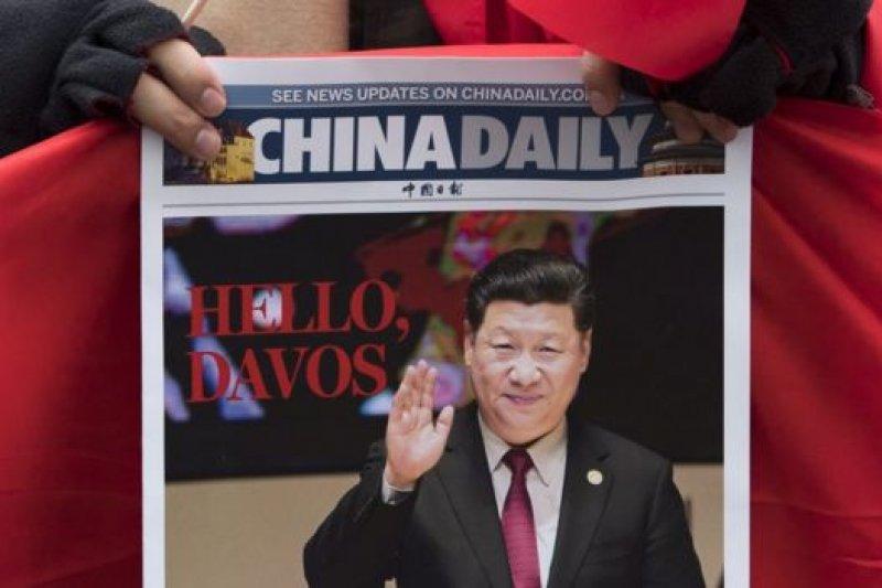 上周,中國國家主席習近平在瑞士達沃斯強調國際合作的益處,以及全球化的重要性。(BBC中文網)