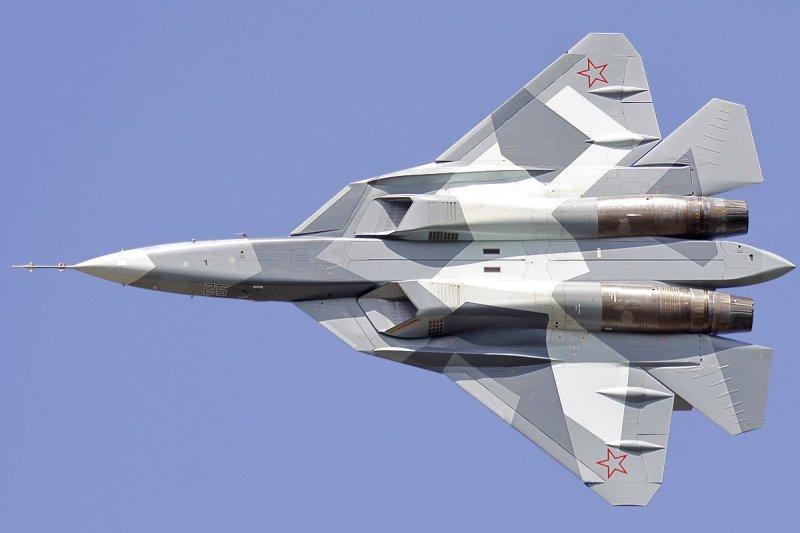 T-50。(Dmitry Zherdin@Wikipedia/CC BY-SA 3.0)