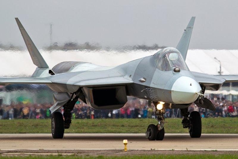 T-50。(Alex Beltyukov@Wikipedia/CC BY-SA 3.0)