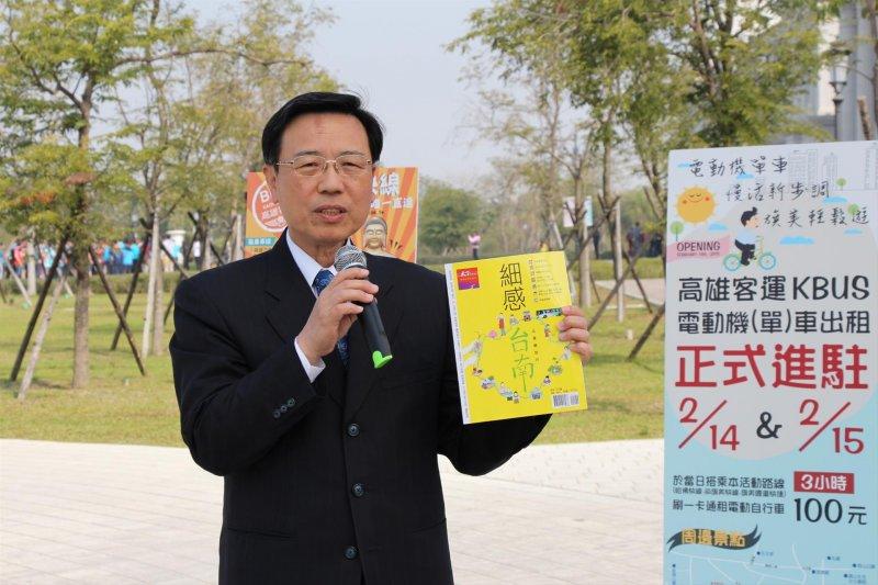 台南市副市長張政源將於7月16日接任交通部政務次長。(資料照,取自台南市政府交通局)