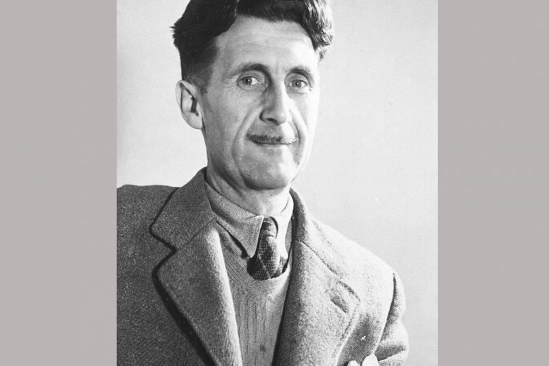 英國小說家歐威爾(George Orwell)(AP)
