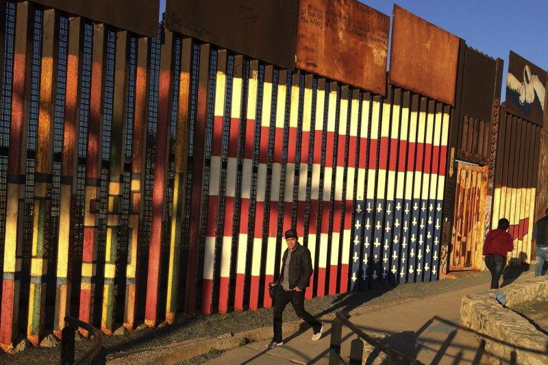 美墨邊境。(美聯社)