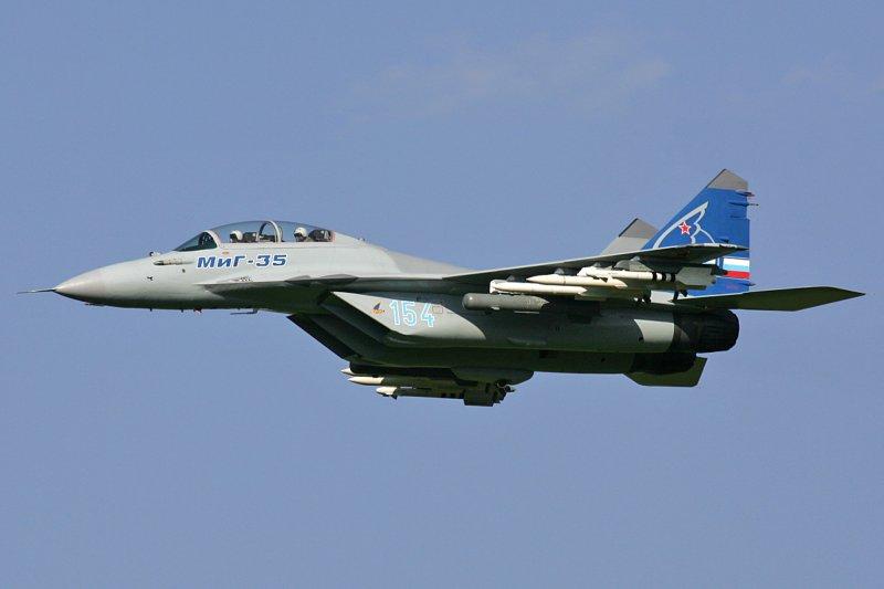 俄羅斯米格-35(MiG-35)戰鬥機(Dmitriy Pichugin@Wikipedia / GFDL 1.2)