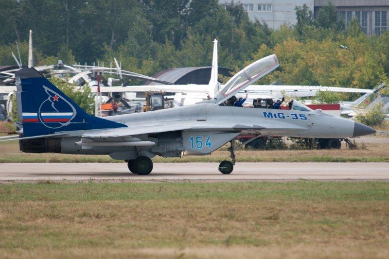 俄羅斯米格-35(MiG-35)戰鬥機(Sergey Vladimirov@Wikipedia / CC BY-SA 2.0)