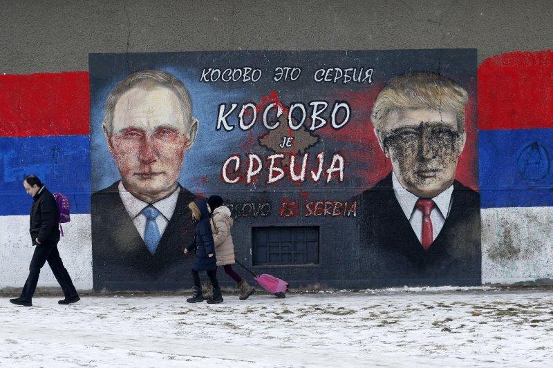 美國總統川普與俄羅斯總統普京惺惺相惜(AP)