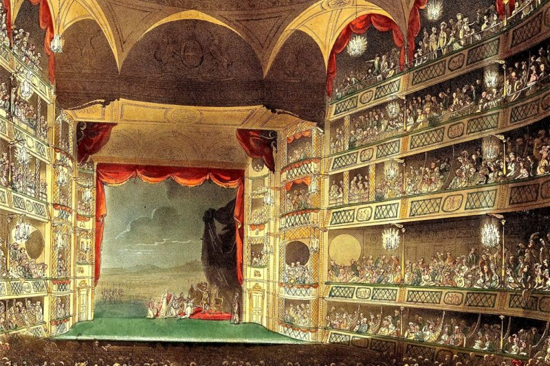 The Theatre Royal, Drury Lane  (From Wikipedia)