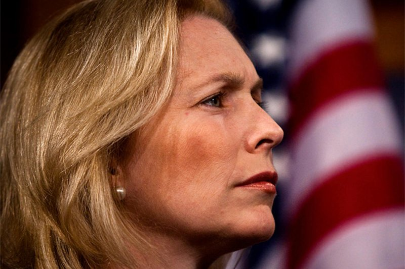 民主黨紐約州聯邦參議員陸天娜(Kirsten Gillibrand)(AP)
