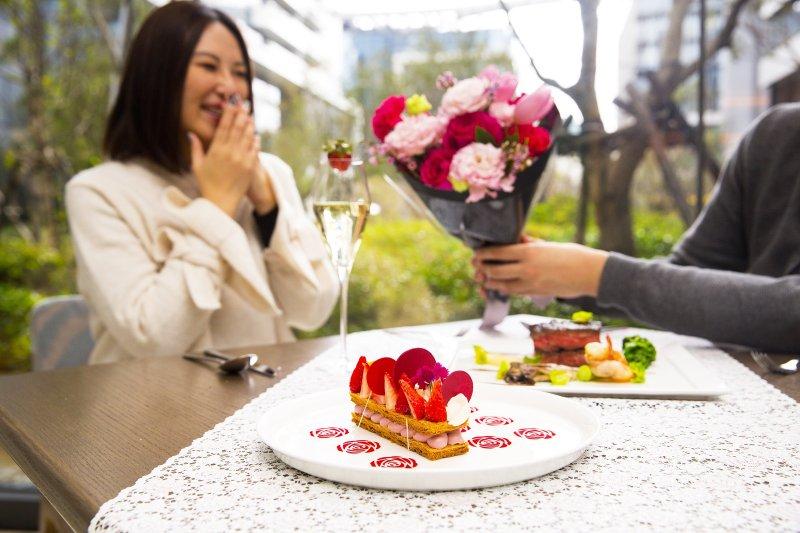「餐廳」總是在一段段情侶關係中扮演重要的角色。(圖/台北萬豪酒店提供)