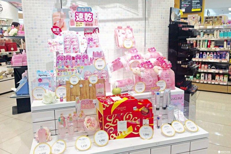 粉色系、櫻花香季節限定發售商品總是吸引大批女孩搶購!(圖/Matcha提供)