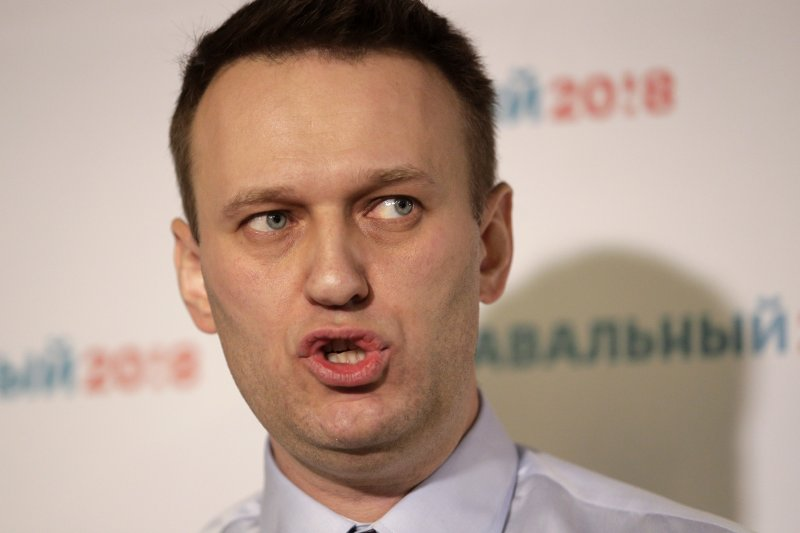 普京政敵納瓦爾尼。(美聯社)