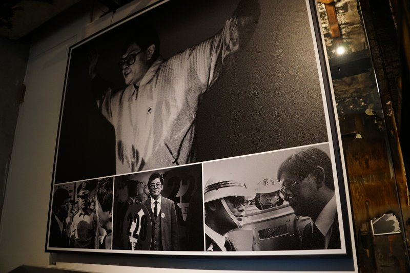 20170211-鄭南榕基金會特展開幕式,圖為館內展示品。(盧逸峰攝)