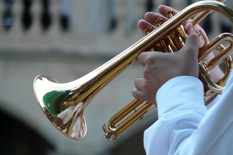 你覺得這雙演奏小喇叭的手會是男生的還是女生的呢?(圖/pixabay)