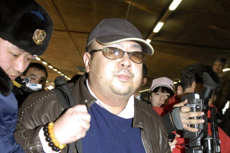 北韓最高領導人金正恩的長兄金正男13日上午傳出在馬來西亞吉隆坡國際機場遭到毒殺。(AP)