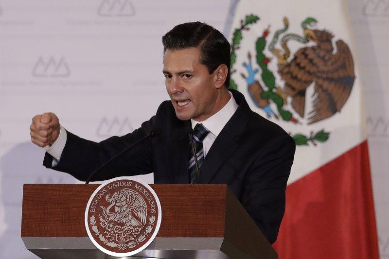 墨西哥總統潘尼亞涅托。(美聯社)